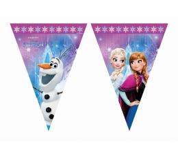 """Vėliavėlių girlianda """"Frozen"""" (9 vėliavėlės)"""