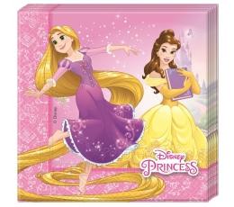 """Servetėlės """"Disney princesės"""" (20 vnt.)"""