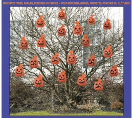 """Maišeliai rudeniniams lapams """"Moliūgai"""" (20 vnt.)"""