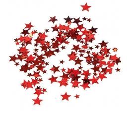 """Konfeti """"Raudonos žvaigždės"""""""