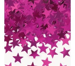 """Konfeti """"Rožinės žvaigždės"""" (14 g.)"""