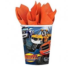 "Puodeliai ""Blaze"" (8 vnt./266 ml)"