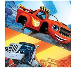 "Servetėlės ""Blaze and the monster machines"" (20 vnt.)"