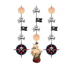 "Kabančios dekoracijos ""Piratų lobis"" (3 vnt.)"