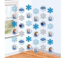 "Kabančios dekoracijos ""Ledo šalis"" (6 vnt./1,5 m)"