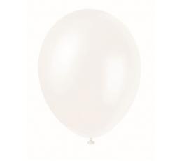 Balionas, baltas perlamutrinis (30 cm)