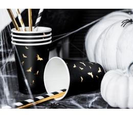"""Puodeliai """"Auksiniai šikšnosparniai"""" (6 vnt./220 ml)"""