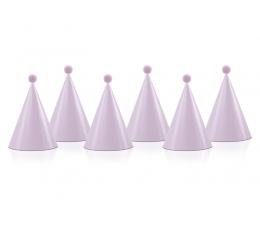 Kepuraitės su burbuliukais, rausvos (6 vnt.)