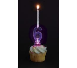 """Žvakutės su spalvą keičiančiu laikikliu """"3"""""""