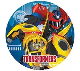 "Lėkštutės ""Transformeriai""  (8 vnt./23 cm)"