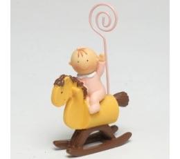 """Nuotraukos laikiklis """"Mergaitė ant arkliuko"""" (8,5 cm)"""
