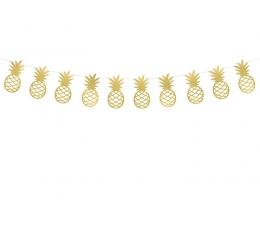 """Girlianda """"Auksiniai ananasai"""" (2 m)"""