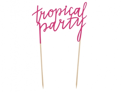 "Torto dekoracija ""Tropical party"""