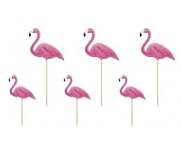 "Smeigtukai-dekoracijos ""Flamingai"" (6 vnt.)"