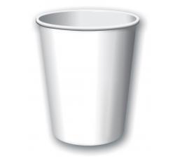 Puodeliai, balti (8 vnt./266 ml)