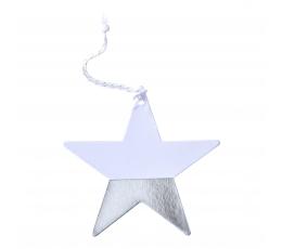 """Etiketės """"Sidabro žvaigždės"""" (6 vnt.)"""