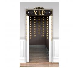 """Durų dekoracija """"VIP"""", auksinė"""