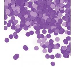 Popieriniai konfeti, violetiniai (14 g.)
