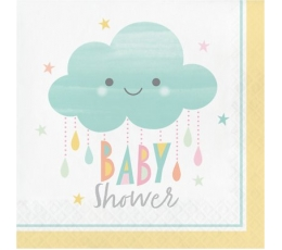 "Servetėlės ""Debesėlis.Baby Shower"" (16 vnt.)"