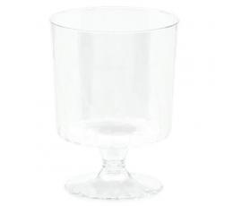 Mini taurės, skaidrios (10 vnt./147 ml)