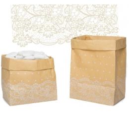"""Popieriniai maišeliai """"Mezginiai"""" (6 vnt.)"""