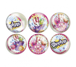 "Guminiai kamuoliukai ""Shopkins"" (6 vnt.)"
