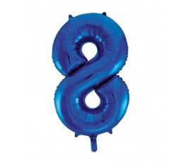 """Folinis balionas """"8"""", mėlynas (85 cm)"""