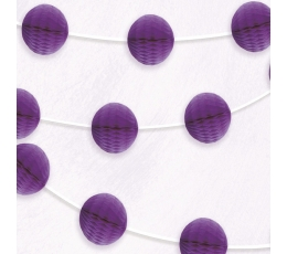 Koriukų girlianda, violetinė (2,13 m)