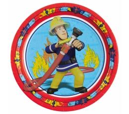 "Lėkštutės ""Fireman Sam"" (8 vnt./23 cm)"