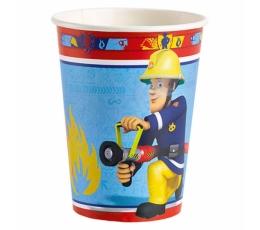 "Puodeliai ""Fireman Sam"" (8 vnt./266 ml)"