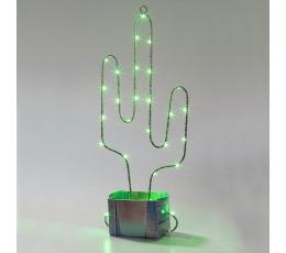 """Šviečianti dekoracija """"Kaktusas"""""""