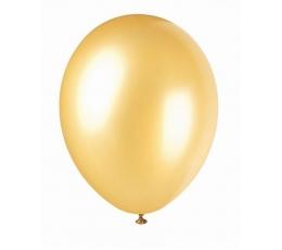 Balionas, perlamutrinis auksinis (30 cm)