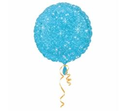 "Folinis balionas ""Žydras blizgis"" (43 cm)"