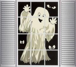 """Lango dekoracija """"Šmėkla-vaiduoklis"""""""