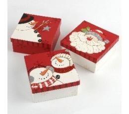 """Dovanų dėžutė """"Kalėdų senelis""""/""""Senis besmegenis"""""""