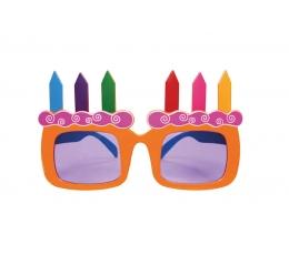 """Šventiniai akiniai """"Tortas"""""""