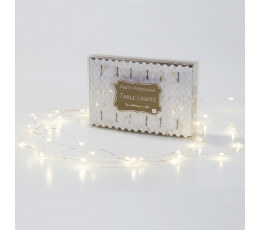 """Švieselių LED girlianda stalui """"Lašeliai"""" (3 m)"""