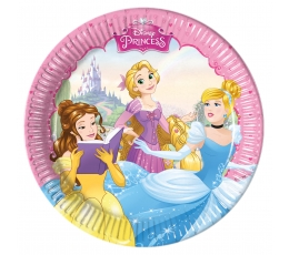 "Lėkštutės ""Princesės"" (8 vnt./20 cm)"