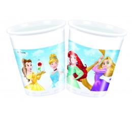 """Plastikiniai puodeliai """"Disney princesės"""" (8 vnt./200 ml)"""