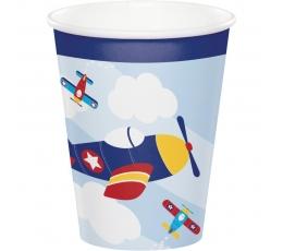 "Puodeliai ""Lėktuvėliai"" (8 vnt./266 ml)"