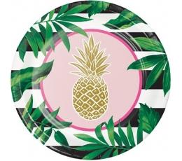 """Lėkštutės """"Ananasas"""" (8 vnt./25cm)"""