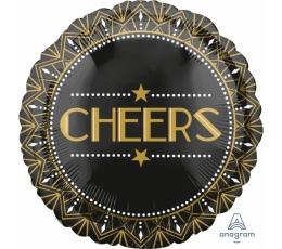 "Folinis balionas ""Cheers"" (43 cm)"