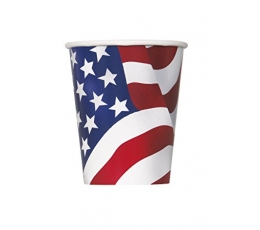 "Puodeliai ""Americano"" (8 vnt./266 ml)"