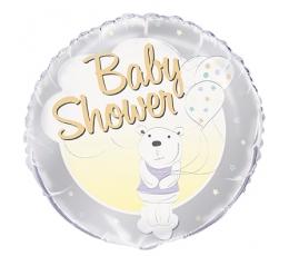 """Folinis balionas """"Meškutis.Baby Shower"""" (45 cm)"""