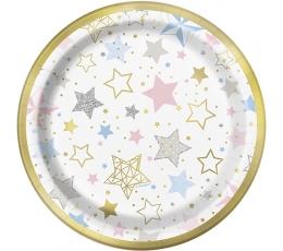 """Lėkštutės """"Žvaigždutės"""" (8 vnt./18 cm)"""