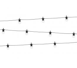 Apvalių LED lempučių girlianda (8 m)