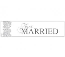 "Automobilio numeriai ""Just Married"", raštuoti (1 vnt.)"