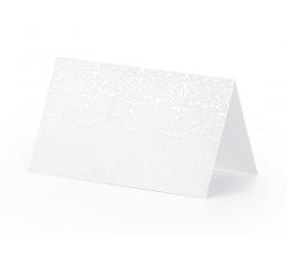 """Stalo-vardų kortelės """"Perliukai"""" (10 vnt.)"""