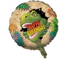 """Folinis balionas """"Dinozauras Dinas"""" (45 cm)"""