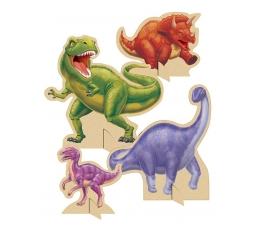 "Stalo dekoracijos ""Dinozaurai"" (4 vnt.)"